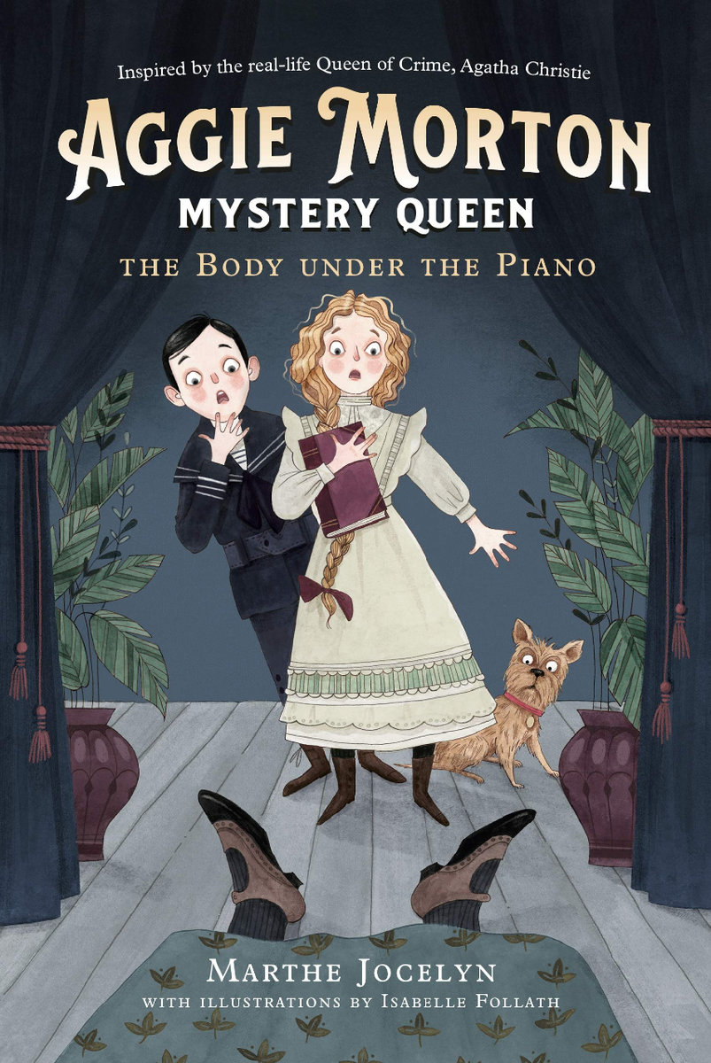Aggie Morton, Mystery Queen: Body under the Piano